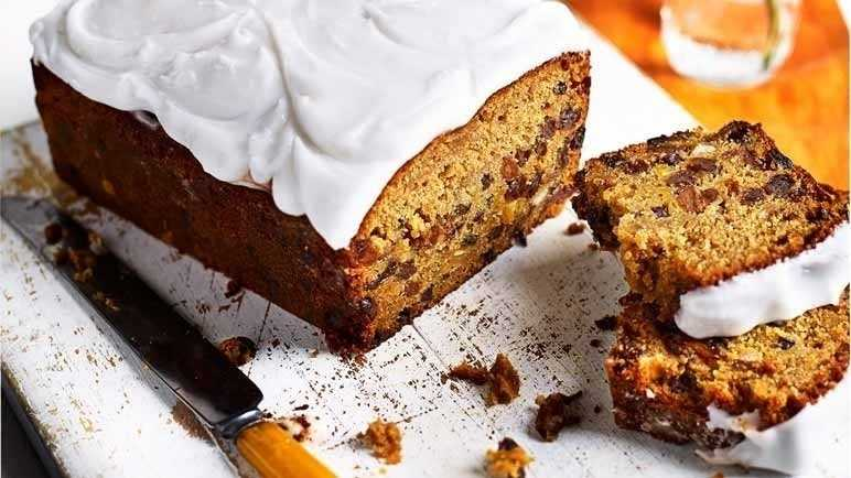 Spiced squash and fruit loaf