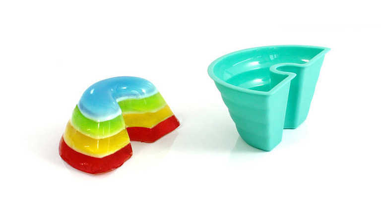 Rainbow Jelly Mould