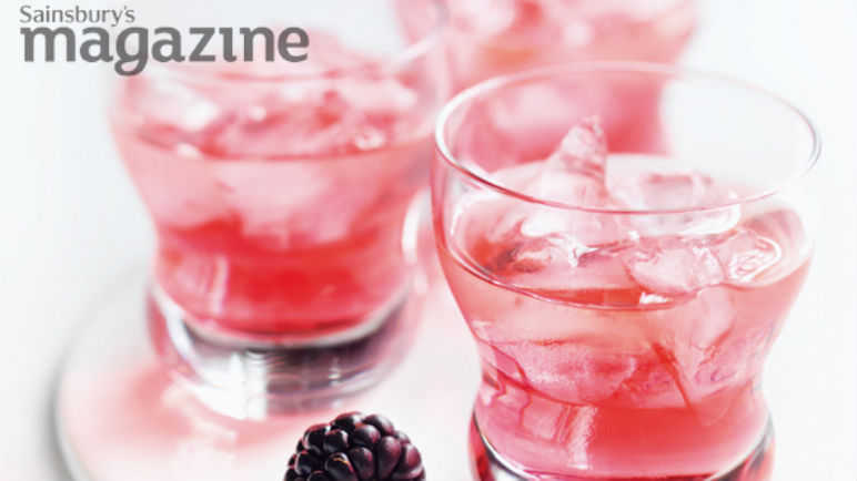 Blackberry vodka