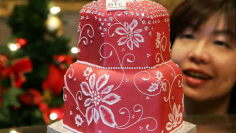 Most expensive Christmas cake