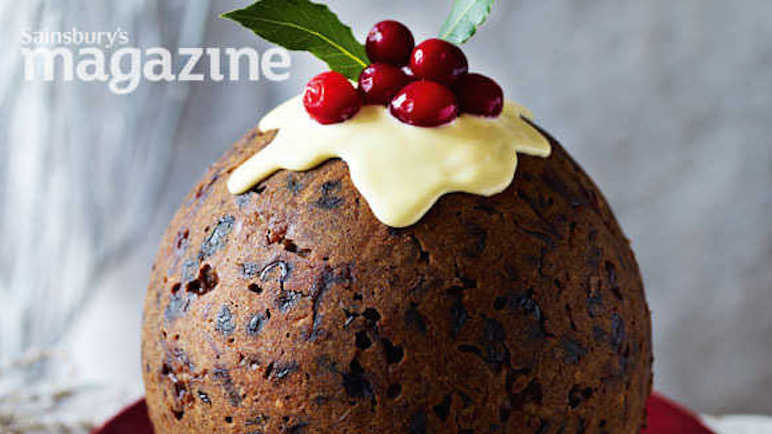 Gingerbread Christmas pudding