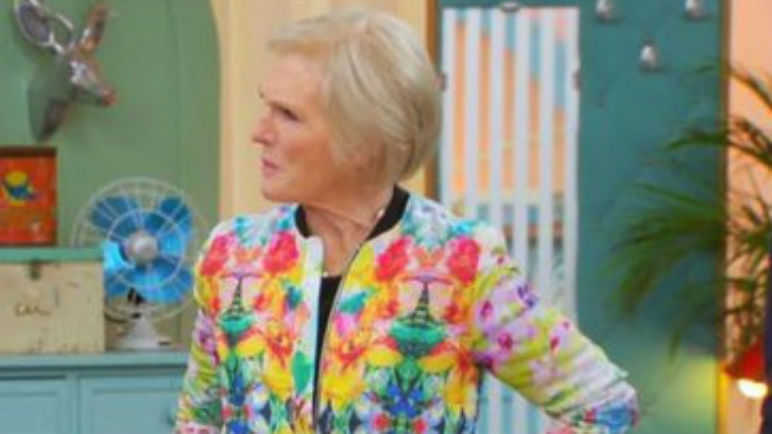 Mary Berry Floral Jacket