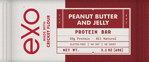 Exo Peanut Butter and Jelly Cricket Protein Bar