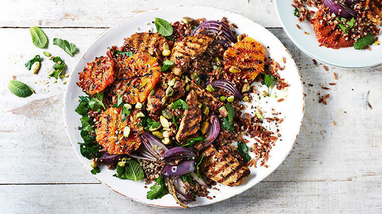 9 zingy salads to pep up your day sainsbury 39 s for Pomegranate molasses sainsburys