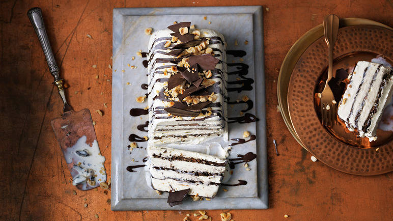 Homemade viennetta