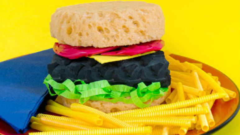 Bicycle tyre burgers