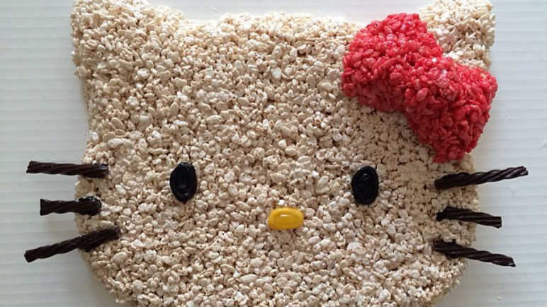 Rice Krispies Hello Kitty