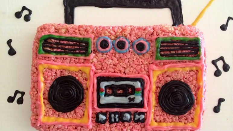 Rice Krispies Boom Box