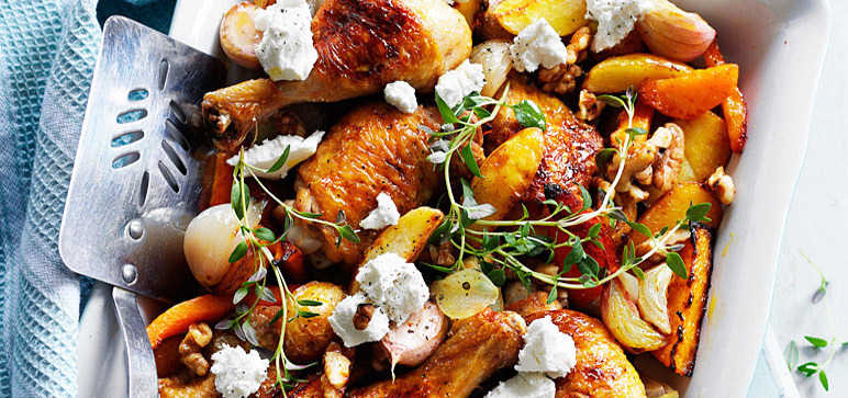 Butternut chicken recipe
