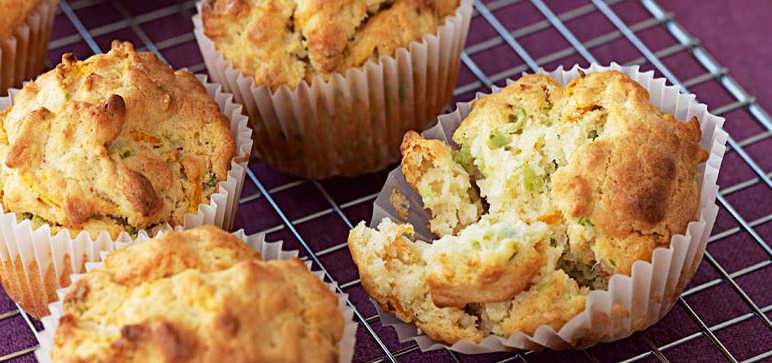 Courgette and Carrot Muffin Recipe