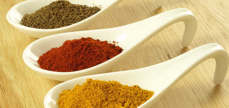 Cumin and Tumeric Spices