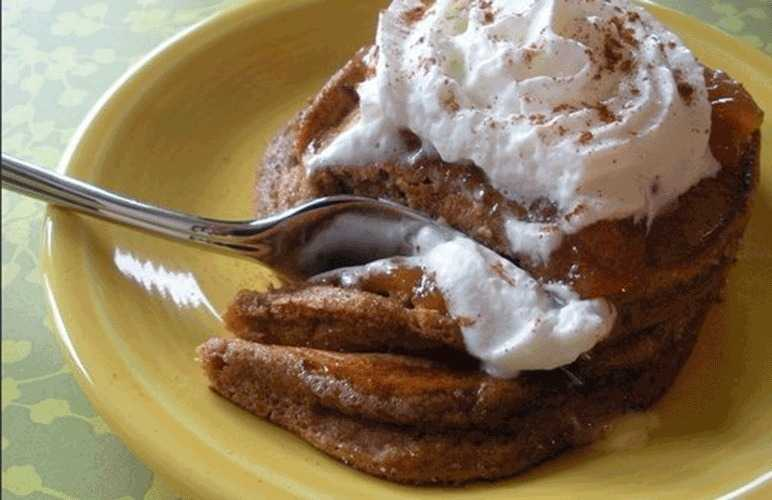 Gingerbread pancake recipe