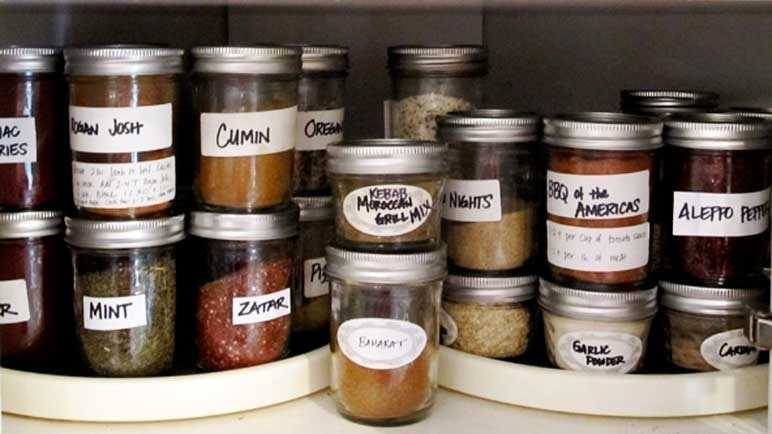 How to organise your spices