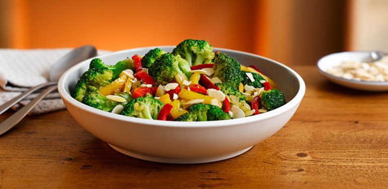 Broccoli and pepper veggies