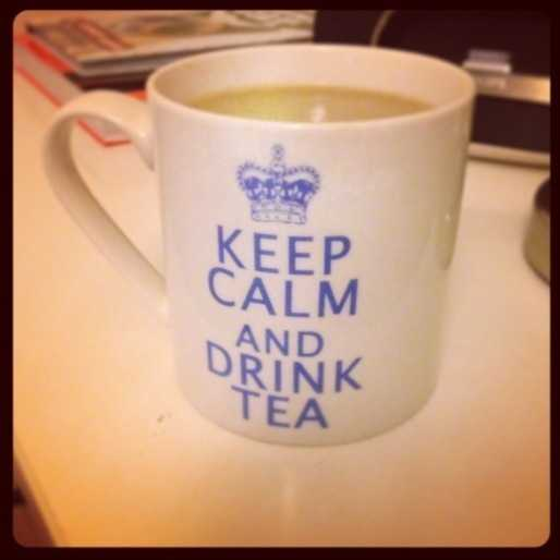 Every day starts with a cuppa