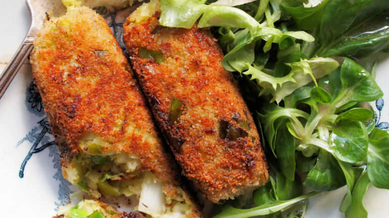 Glamorgan sausages
