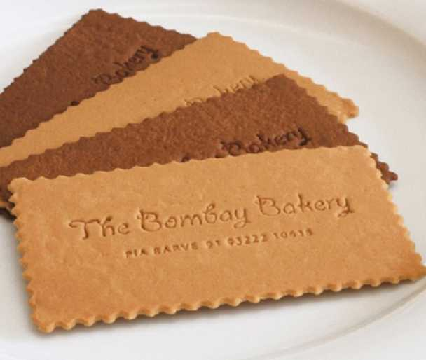 Biscuit business card