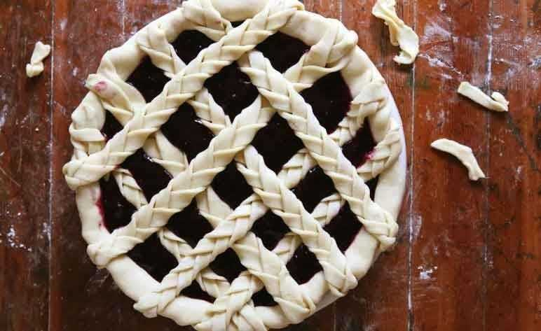 plaited lattice