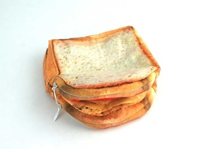 Sandwich pocket purse