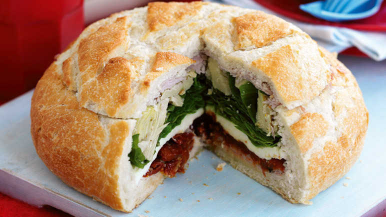 Italian pressed sandwich recipe