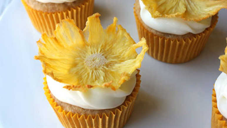 Buttercup cupcakes