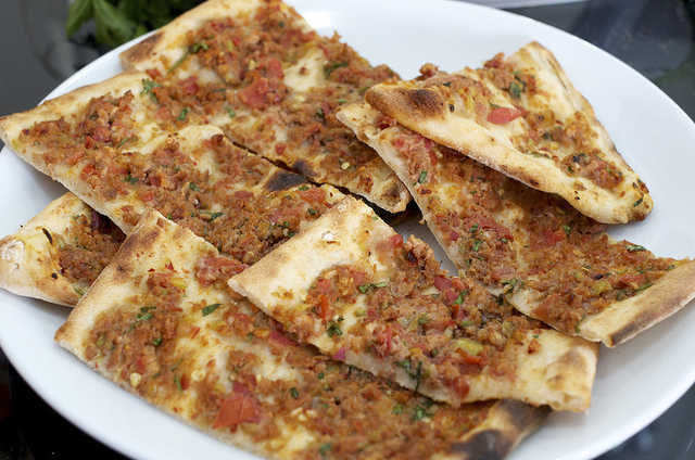Pide with mince