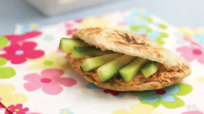 Cucumber pitta pockets