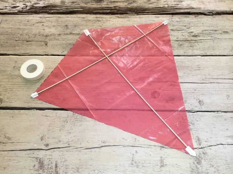 Build a kite step 5
