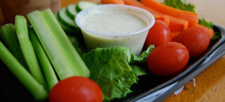 Veggie and dip