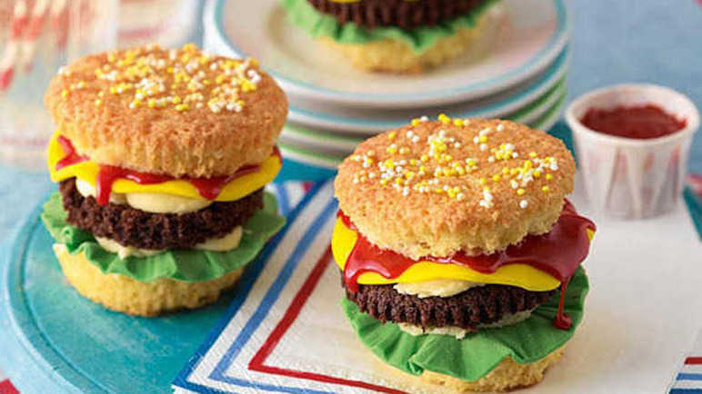 Cheeseburger cupcakes recipe