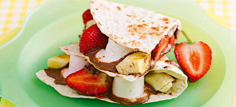 Fruity mallow wraps