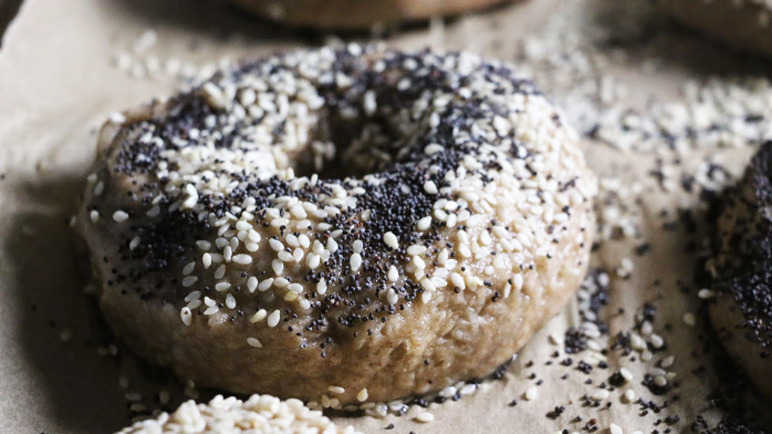 Buckwheat and Teff Flour Bagels