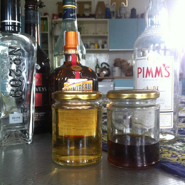 Homemade Pimm's recipe