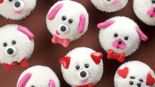 Puppy love cupcakes