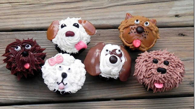 All-the-breeds cupcakes