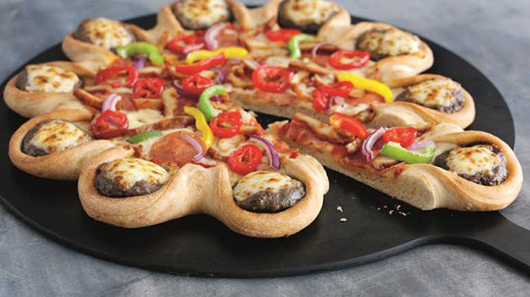pizza-hut-mini-cheese-burger-pizza-homemade