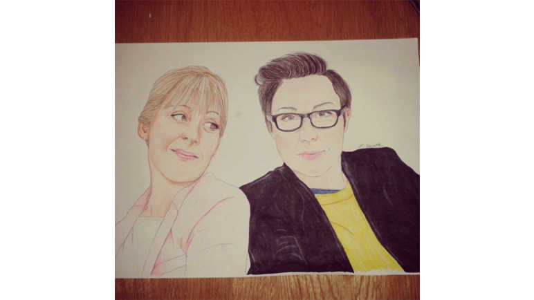Mel and Sue too