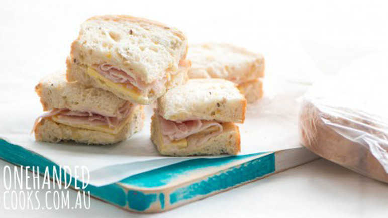 Batch-make lunchbox sandwiches