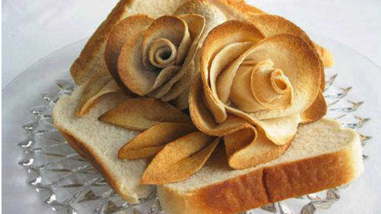 Rose bread