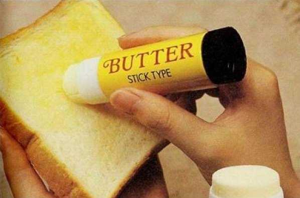 Butter on a stick