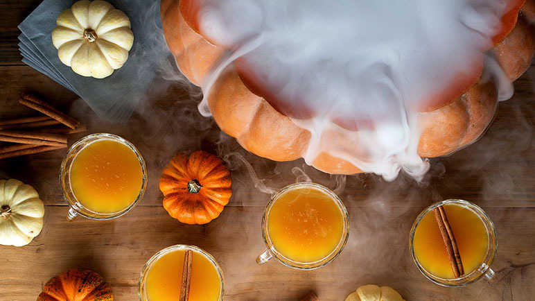 Smokin' pumpkin punch
