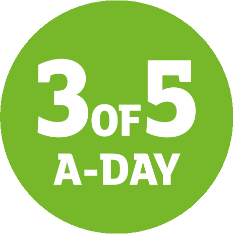 3 of 5 a day logo2