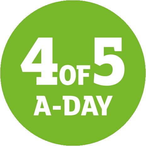 4 of 5 a day logo2
