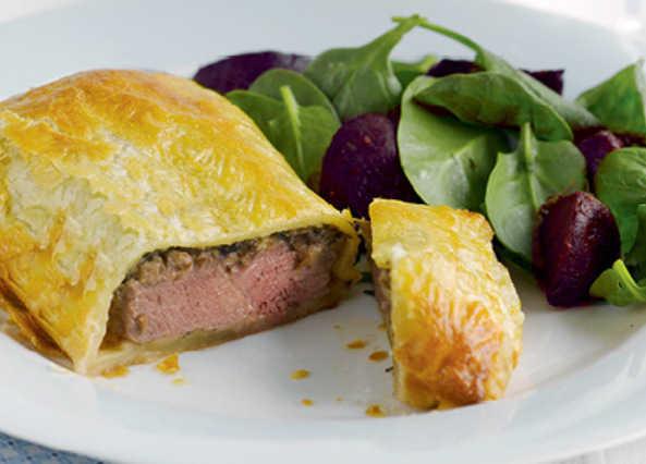 Spiced beef wellington image