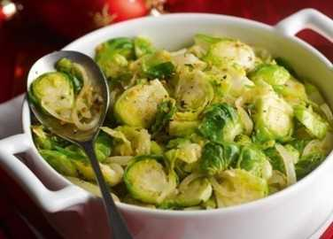 Sensational spiced sprouts