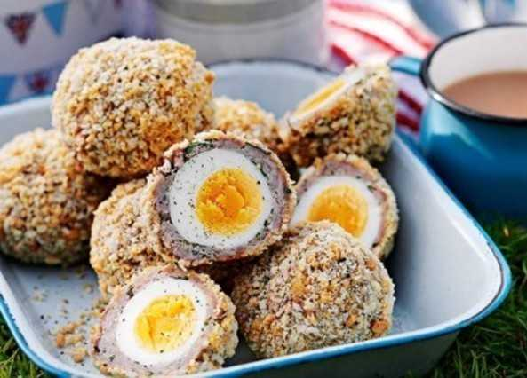 Scotch egg image