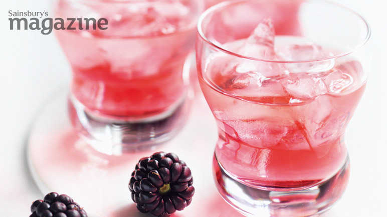 Image: blackberry vodka