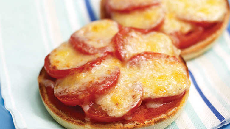 Pizza muffin image