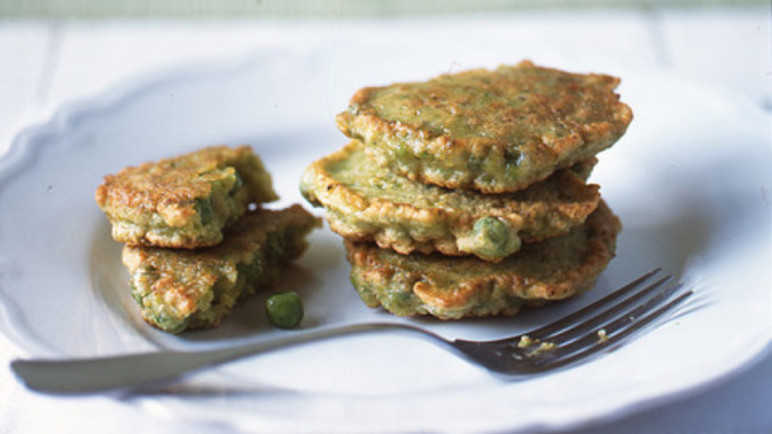 Pea fritter image