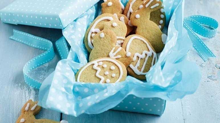 Iced easter biscuit image